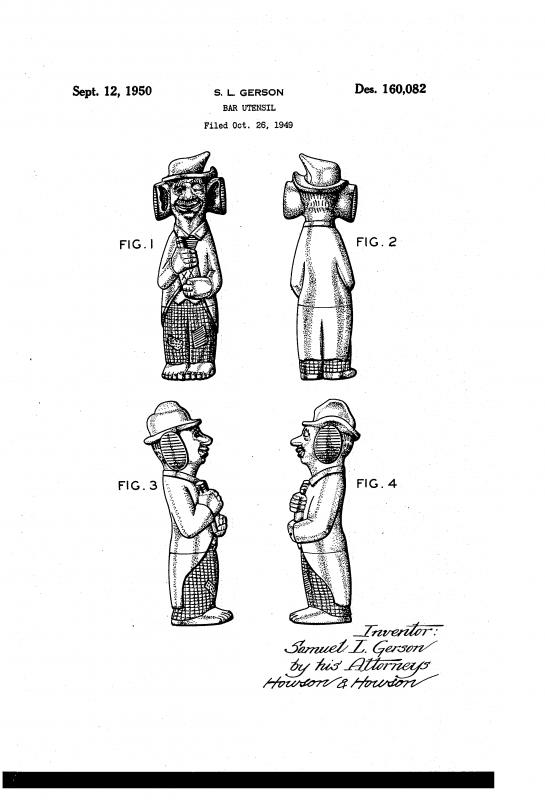 Bar Bum Patent